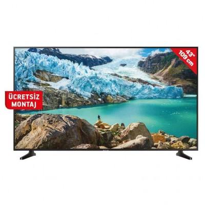 Samsung 43RU7090 43 İnç 109 Ekran Ultra HD 4K Smart Led Tv SIFIR ÜRÜN (Samsung Türkiye Garantili)